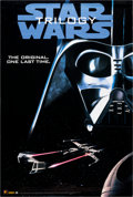 Memorabilia:Science Fiction, Star Wars Trilogy Video One Sheet Poster (20th Century Fox, 1995)....