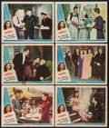 """Movie Posters:Comedy, The Amazing Mrs. Holliday (Universal, 1943). Lobby Cards (6) (11"""" X 14""""). Comedy.. ... (Total: 6 Items)"""