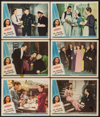 """The Amazing Mrs. Holliday (Universal, 1943). Lobby Cards (6) (11"""" X 14""""). Comedy. ... (Total: 6 Items)"""