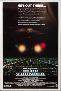 """Blue Thunder & Others Lot (Columbia, 1983). Posters (6) (40"""" X 60""""). Action. ... (Total: 6 Items)"""
