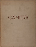 Books:Photography, [Photography]. Camera. Bound Collection Containing Vol. 22. No 1-12. Bucher, 1943-1944. Contemporary cloth with ...