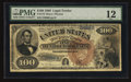 Large Size:Legal Tender Notes, Fr. 173 $100 1880 Legal Tender PMG Fine 12.. ...