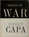 Books:Photography, [Photography]. Robert Capa. Images of War. Grossman, 1964. First edition, first printing. Publisher's cloth with she...