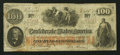 Confederate Notes:1862 Issues, T41 $100 1862. PF-12 Cr. 317A. ...