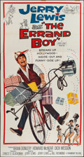 "Movie Posters:Comedy, The Errand Boy (Paramount, 1961). Three Sheet (41"" X 78""). Comedy.. ..."
