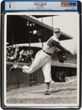 Baseball Collectibles:Photos, 1941 Dizzy Dean Signed Photograph by George Burke....