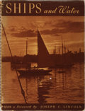 Books:Photography, [Photography]. Alfred A. de Lardi [editor]. Ships and Water. David Mckay, 1938. Publisher's wrappers and spiral bind...