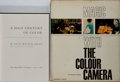 Books:Photography, [Photography]. Group of Two Books Related to Color Photography. Various editions and publishers, 1951-1961. One book lacking... (Total: 2 Items)