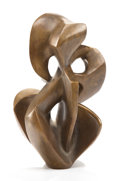 Post-War & Contemporary:Sculpture, DAY SCHNABEL (American, 1905-1991). Untitled, 1955. Bronze.9-1/2 x 6 x 5-1/2 inches (24.1 x 15.2 x 14.0 cm). Ed. 2/6. D...