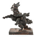 Post-War & Contemporary:Sculpture, JACQUES LIPCHITZ (French, 1891-1973). Variation on the Theme of the Rape of Europe XII. Bronze. 10-5/8 x 10 x 6 inches (...