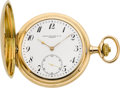 Timepieces:Pocket (post 1900), Patek Philippe & Co. Fine Gent's Gold Hunters Case, Original Box, circa 1909. ...