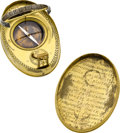 Timepieces:Other , Krigner Rare Early 18th Century Solar Watch. ...
