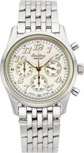 Timepieces:Wristwatch, Breitling Ref. A40035 Stainless Steel Navitimer PremierChronograph. ...