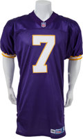 Football Collectibles:Uniforms, 1998 Randall Cunningham Game Worn Minnesota Vikings Jersey....