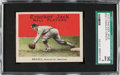 Baseball Cards:Singles (Pre-1930), 1915 Cracker Jack Chick Gandil #39 SGC 96 Mint 9 - Pop Four, NoneHigher! ...