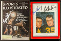 Miscellaneous Collectibles:General, Misc. Sports Stars Signed Magazines Lot of 2....
