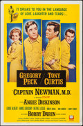 "Movie Posters:War, Captain Newman, M.D. (Universal, 1964). One Sheet (27"" X 41"").War.. ..."