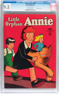Golden Age (1938-1955):Adventure, Four Color #52 Little Orphan Annie (Dell, 1944) CGC NM- 9.2 Off-white pages....