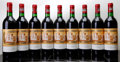 Red Bordeaux, Chateau Ducru Beaucaillou 1982 . St. Julien. 1bn, 1lbsl, 3lscl, 2scl, 2lnc. Bottle (9). ... (Total: 9 Btls. )