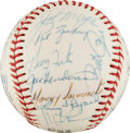 Baseball Collectibles:Balls, 1976 Cincinnati Reds Team Signed Baseball. ...