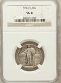 Standing Liberty Quarters, 1923-S 25C VG8 NGC. NGC Census: (11/475). PCGS Population (18/979).Mintage: 1,360,000. Numismedia Wsl. Price for problem f...