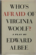 Books:Literature 1900-up, Edward Albee. Who's Afraid of Virginia Woolf? Atheneum,1962. First edition. Publisher's cloth and dust jacket. Mode...
