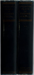 Books:Literature 1900-up, Eugene O'Neill. LIMITED/SIGNED. The Complete Works of EugeneO'Neill. Boni & Liveright, 1924. Limited to 1200 ...(Total: 2 Items)