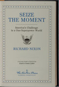 Books:Americana & American History, Richard Nixon. LIMITED/SIGNED. Seize the Moment. EastonPress, 1993. Limited to 1500 hand-numbered copies signed...