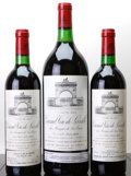 Red Bordeaux, Chateau Leoville Las Cases. St. Julien. 1982 1lbsl Bottle (2). 1982 Magnum (1). ... (Total: 2 Btls. & 1 Mag. )
