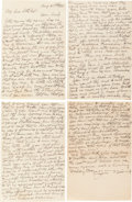 Basketball Collectibles:Others, 1918 James Naismith Handwritten Signed Letter....