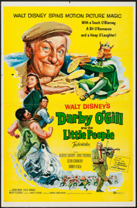 """Darby O'Gill and the Little People & Other Lot (Buena Vista, 1959). One Sheets (2) (27"""" X 41""""). Fantas..."""