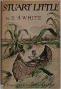 Books:Children's Books, E. B. White. Stuart Little. Harper & Brothers, 1945.First edition. Illustrated by Garth Williams. Publisher's c...
