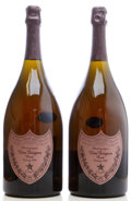 Champagne, Dom Perignon Vintage Champagne 1996 . Rose. Magnum (2). ... (Total: 2 Mags. )