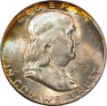 Franklin Half Dollars: , 1952 50C MS66 Full Bell Lines PCGS. CAC. PCGS Population (253/8).NGC Census: (89/4). Numismedia Wsl. Price for problem fr...