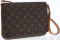 Luxury Accessories:Bags, Louis Vuitton Classic Monogram Canvas Musette Tango Flap Bag withShoulder Strap. ...