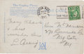Autographs:Post Cards, 1937 Lou Gehrig Handwritten Signed Postcard....