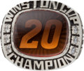 Miscellaneous Collectibles:General, 2002 Tony Stewart Winston Cup Championship Ring. ...
