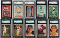 Baseball Cards:Sets, 1957 Topps Baseball Near Set (380/407). ...