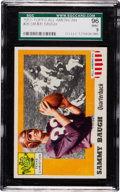 Football Cards:Singles (1950-1959), 1955 Topps All American Sammy Baugh #20 SGC 96 Mint 9 - Pop Four, None Higher! ...