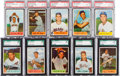 Baseball Cards:Lots, 1954 Bowman Baseball Graded Collection (25). ...