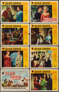 "Movie Posters:Adventure, The Black Shield of Falworth (Universal International, 1954). LobbyCard Set of 8 (11"" X 14"") & Lobby Cards (3) (11"" X 14"")....(Total: 11 Items)"