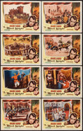 """Movie Posters:Adventure, The Black Knight (Columbia, 1954). Lobby Card Set of 8 (11"""" X 14""""). Adventure.. ... (Total: 8 Items)"""