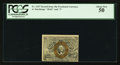 Fractional Currency:Second Issue, Fr. 1247 10¢ Second Issue PCGS About New 50.. ...
