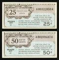 Military Payment Certificates:Series 461, Series 461. . ... (Total: 2 notes)