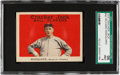 Baseball Cards:Singles (Pre-1930), 1915 Cracker Jack Rube Marquard #43 SGC 96 Mint 9 - Pop Three, NoneHigher! ...