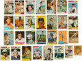 Autographs:Sports Cards, 1950's-70's Vintage Signed Baseball Cards Lot of 168....