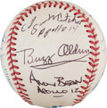 Autographs:Baseballs, 1990's Moon Mission Astronauts Signed Baseball--Ten of TwelveMoonwalkers!...