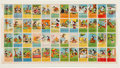 "Non-Sport Cards:Sets, 1930's D52 ""Mickey Mouse Adventures"" Uncut Sheet. ..."