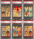 Baseball Cards:Sets, 1935 Goudey Baseball 4 in 1 Collection (89)....