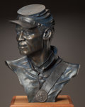 American, DONALD HUNTSMAN (American, b. 1934). One of the 54th, 1992.Bronze with dark brown patina. 22 inches (55.9 cm) high. Ed....